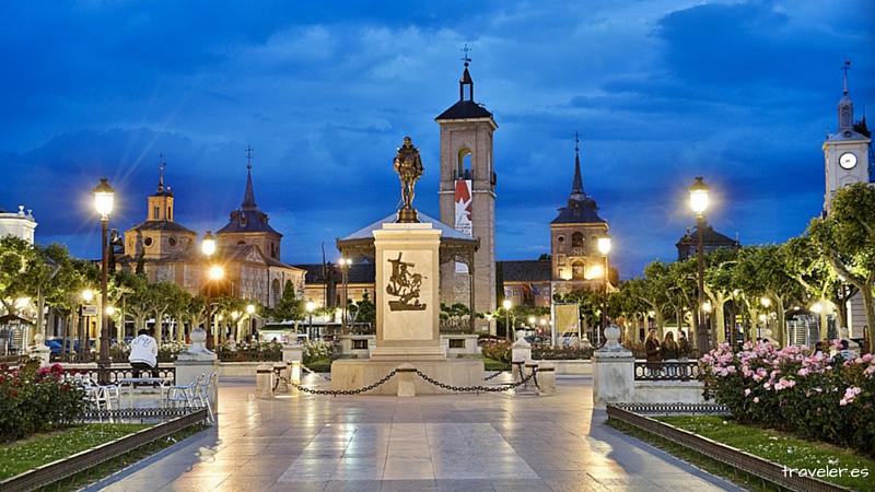Plaza de Cervantes Alcalá de Henares