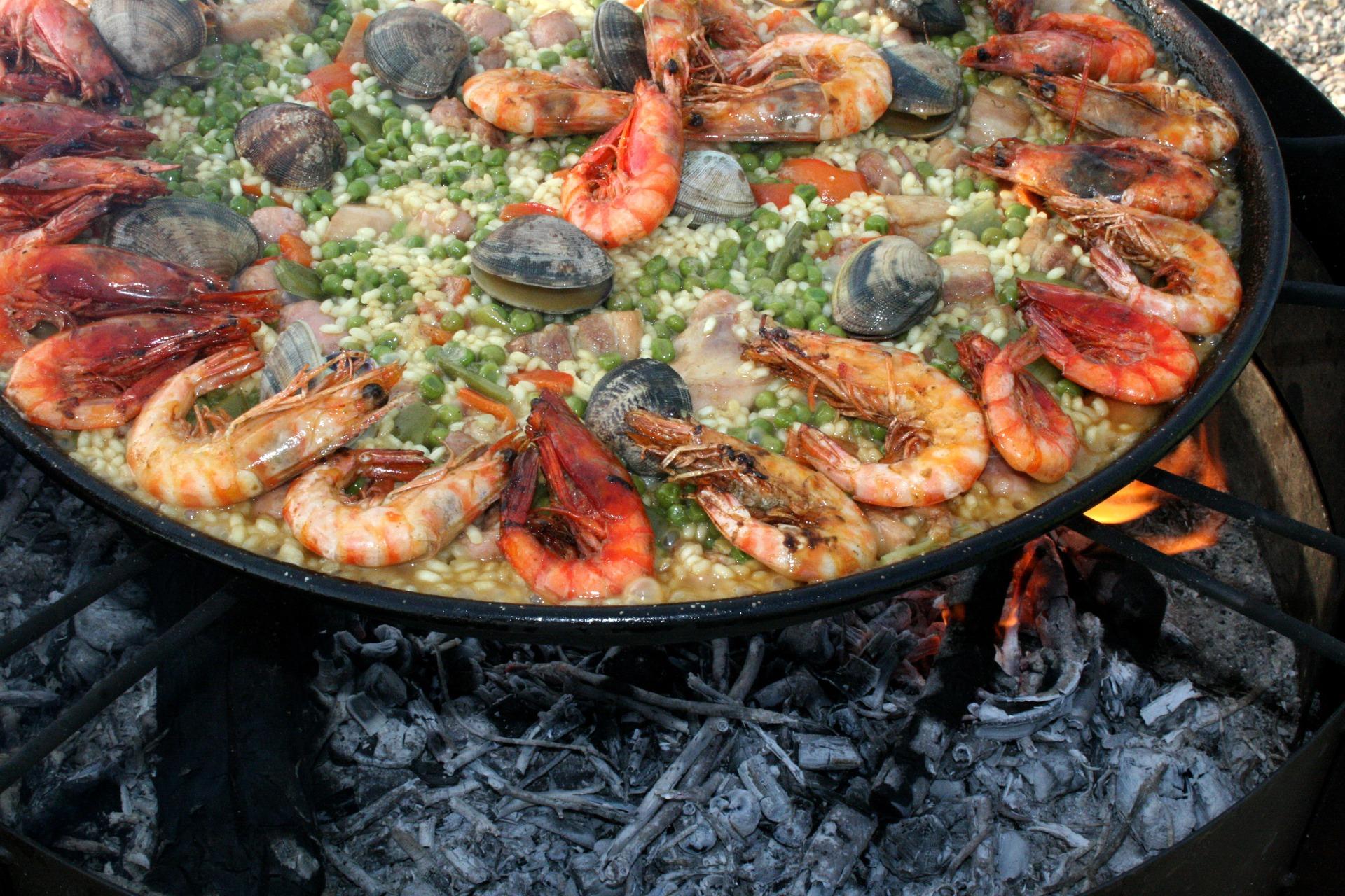 Gastronomía Española Paella Valenciana