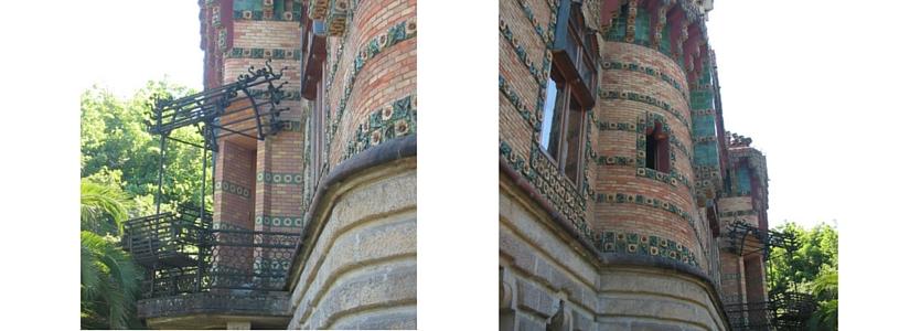 Barandilla Banco El Capricho de Gaudí