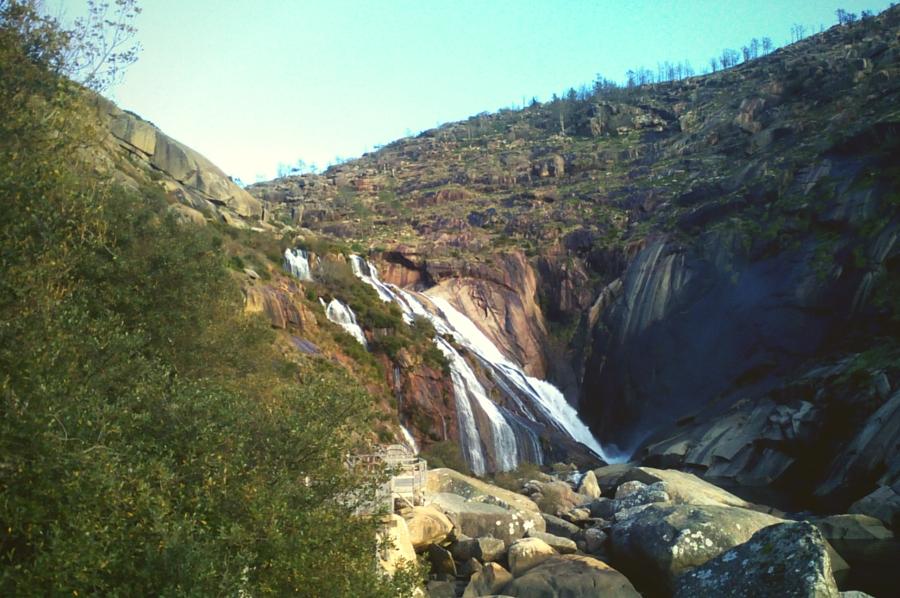Cascada de Ézaro en Galicia