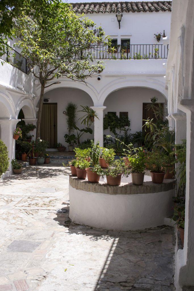 patio andaluz en Sevilla