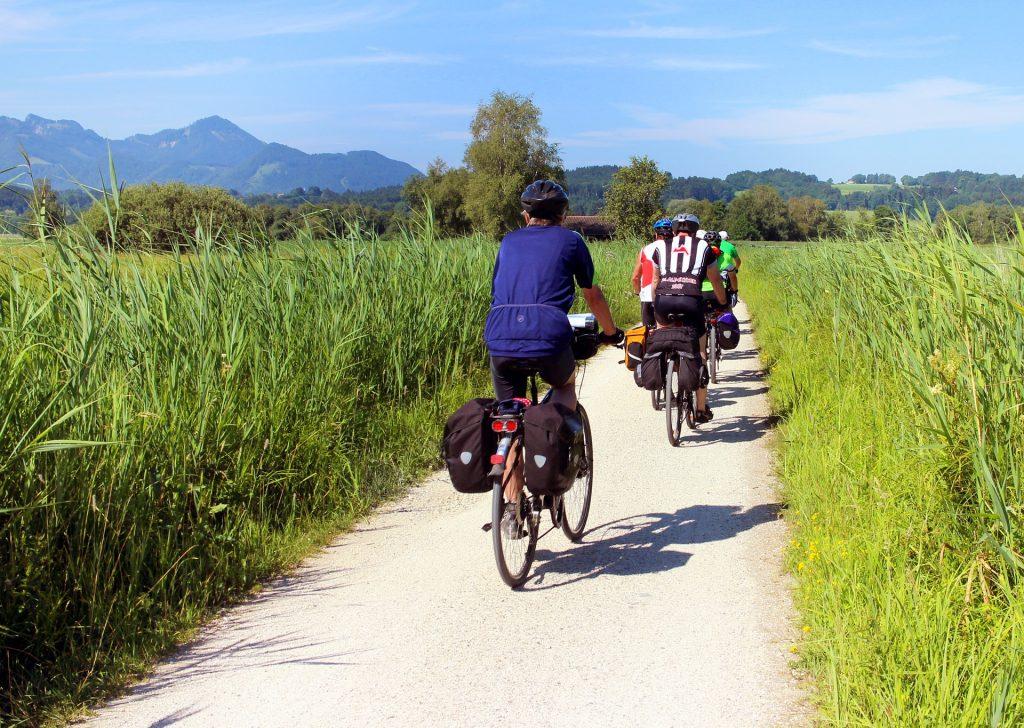 Alforjas para las rutas en bici