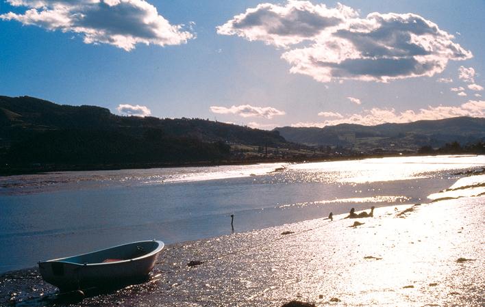 Una de las joyas del turismo de Asturias: la Ría de Villaviciosa