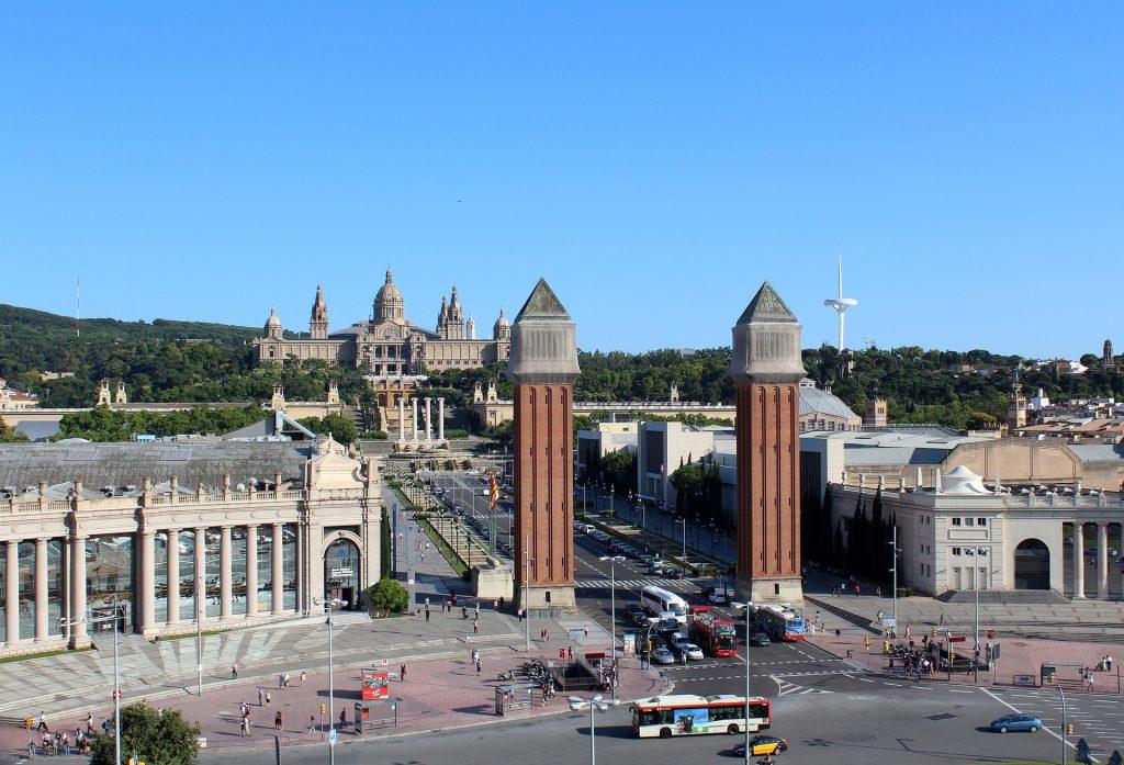 Vista de Montjuic Barcelona