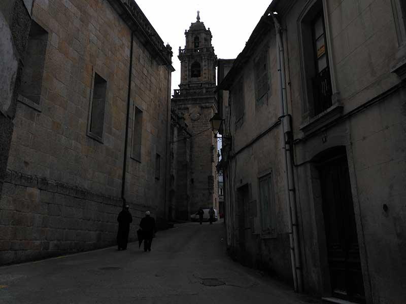 Vista de la Catedral de Mondoñedo