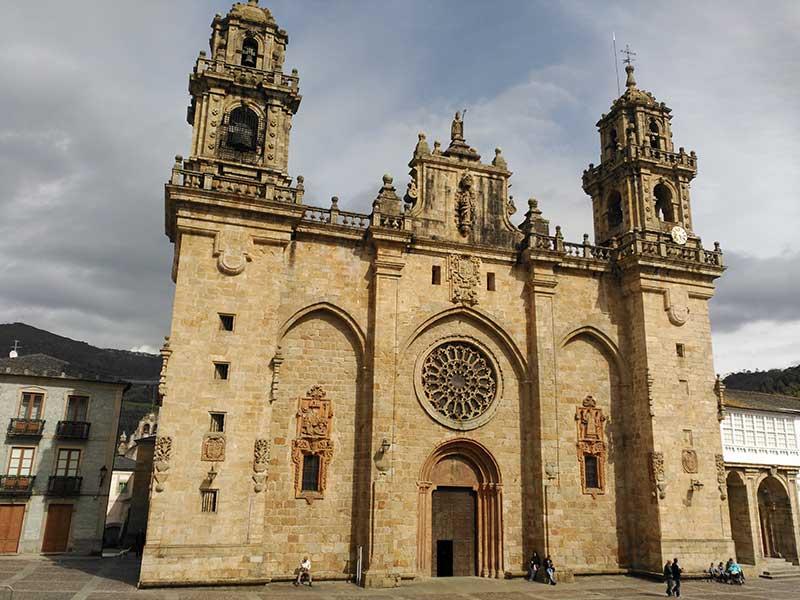 Catedral de Mondoñedo en Lugo.
