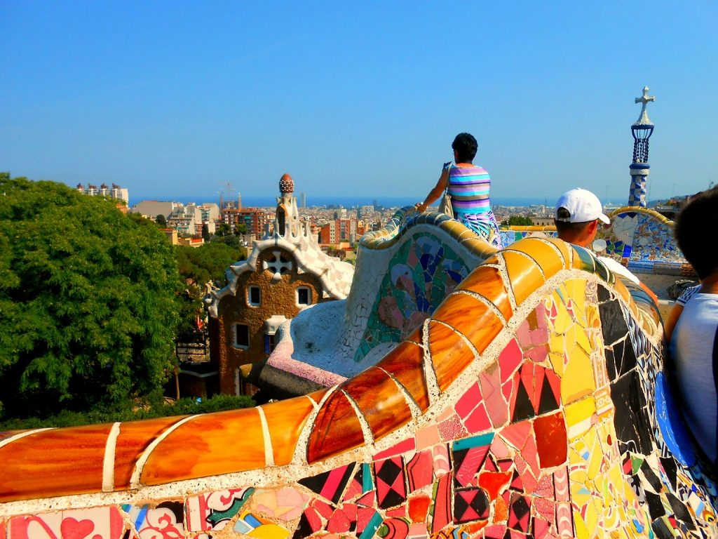 Parc Güell, en Barcelona