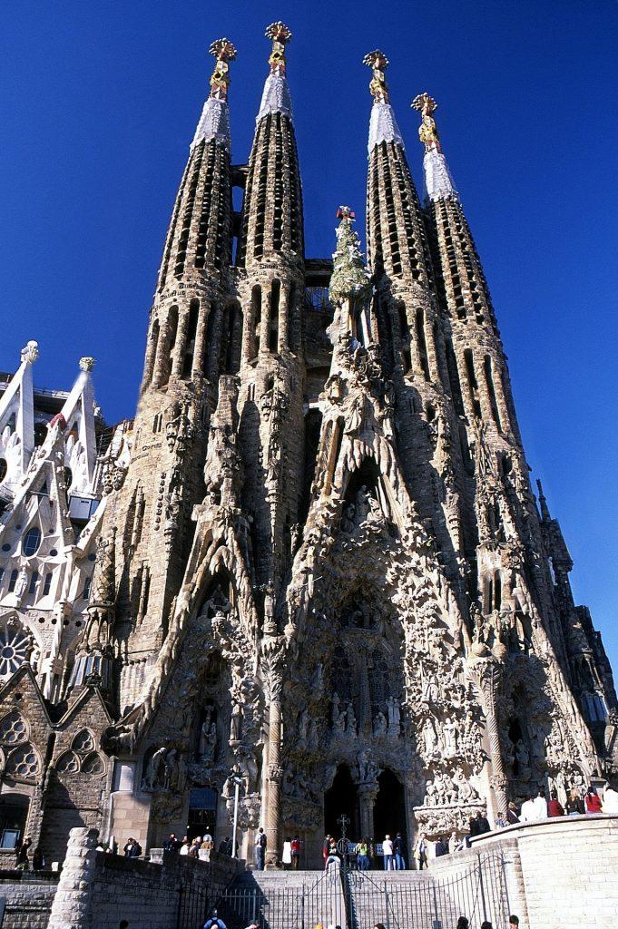 La Sagrada Familia de Gaudí, en Barcelona