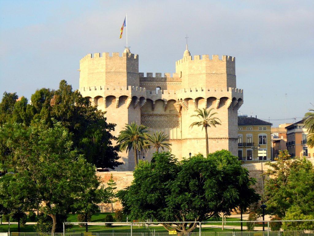 Puerta de Serranos en Valencia