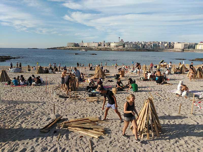 Fiestas de San Juan de A Coruña