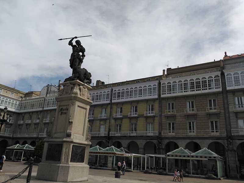 Plaza de María Pita en A Coruña.
