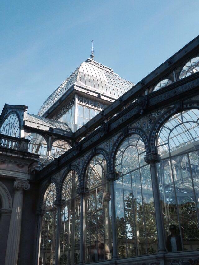 Lateral Palacio de Cristal