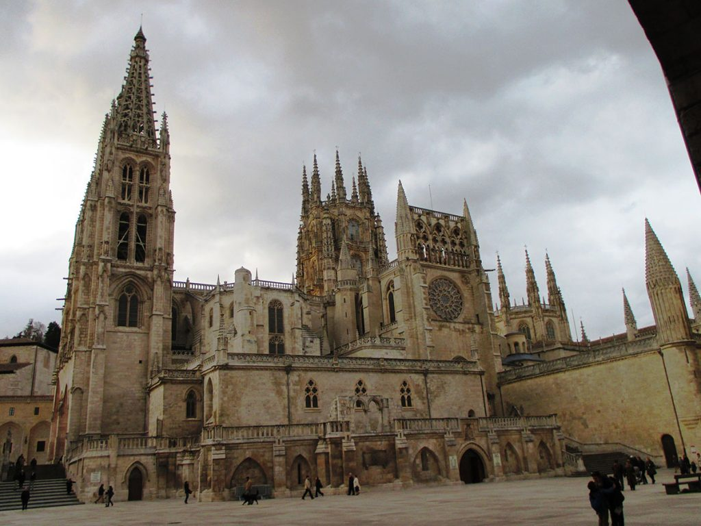 Exterior Catedral Burgos