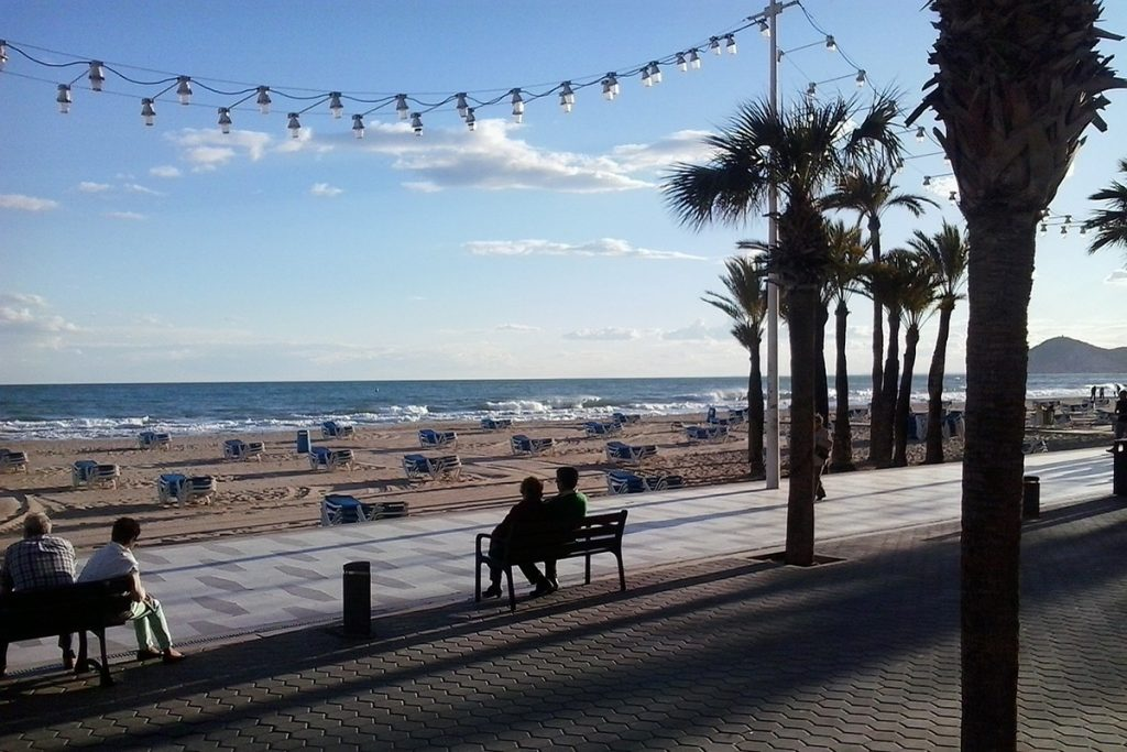 Benidorm entre las ciudades españolas más visitadas