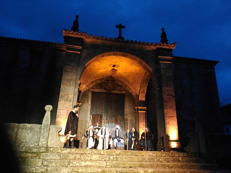 Representación de la Pasión en La Alberca.