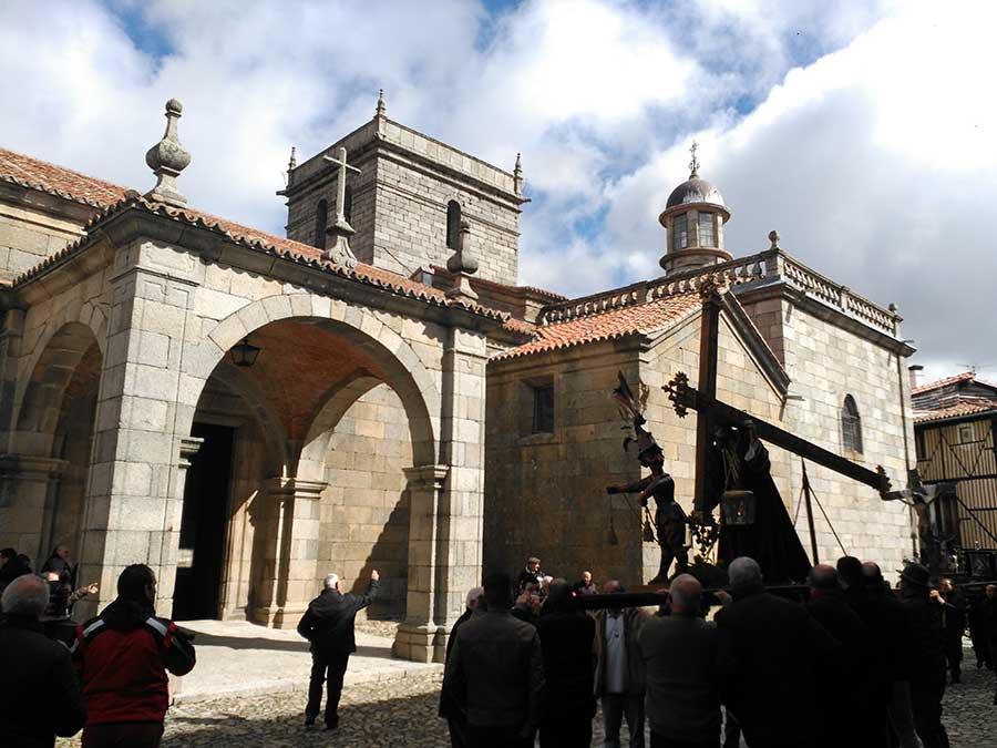 Procesión de Pascua en La Alberca.