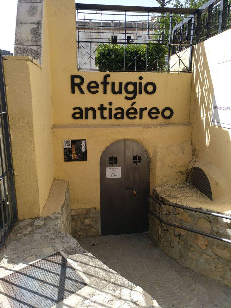 Refugio antiaéreo Plaza de Santiago