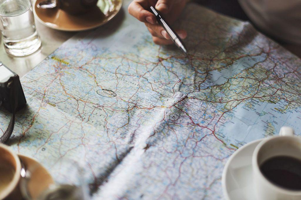 Planificar para viajar con poco dinero