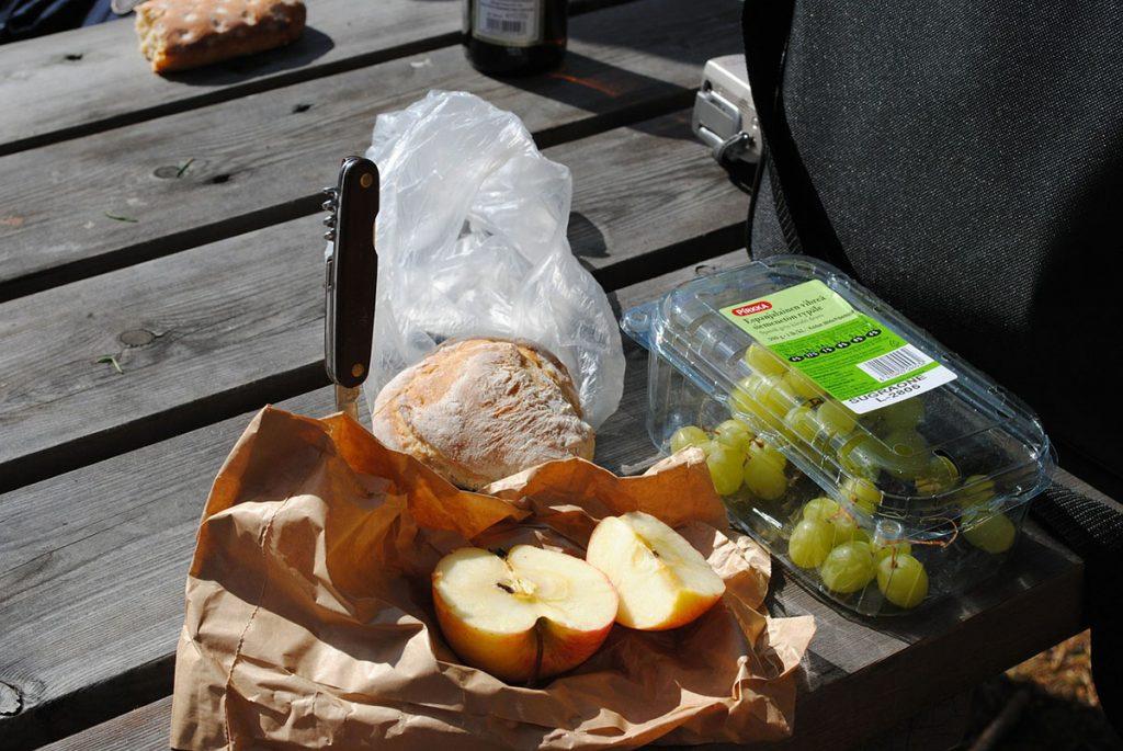 Viajar sin gastar mucho en comida