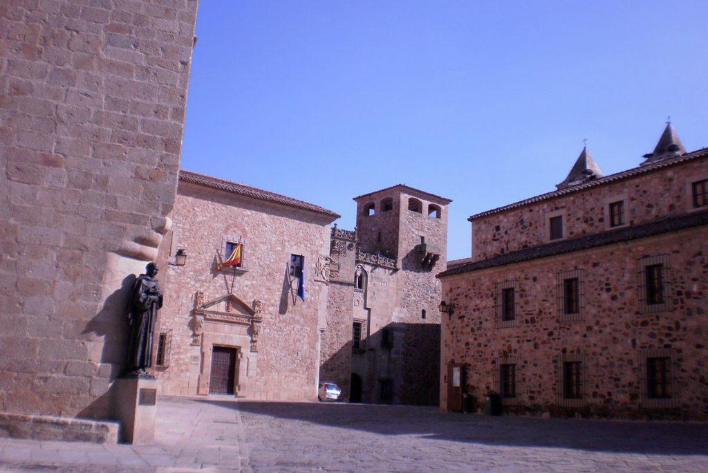 Plaza Santa María, Cáceres