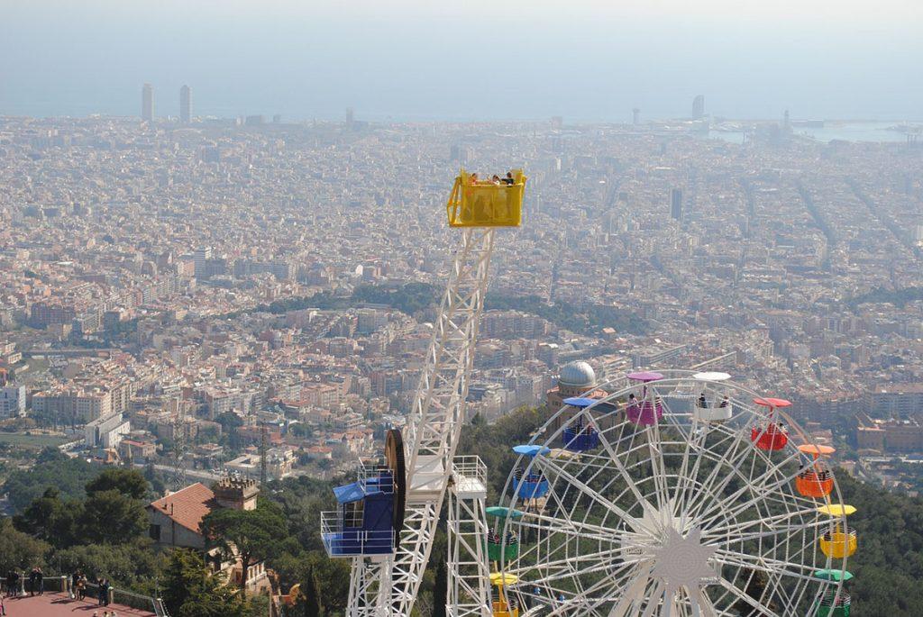 Parques de atracciones en España: Tibidabo